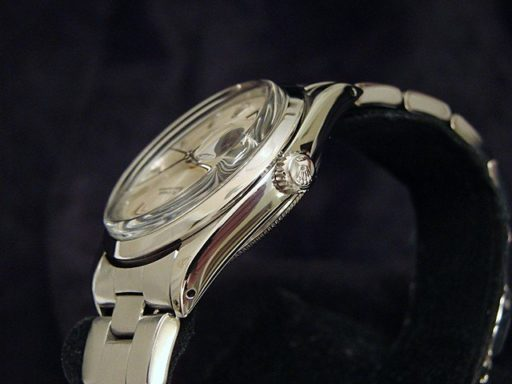 Rolex Stainless Steel Date 15000 Silver -4