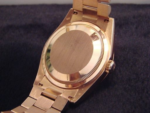 Rolex 18K Rose Gold Day-Date President 118235 Rose Roman-1