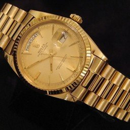 Mens Rolex 18K Gold Day-Date President Champagne  1803 (SKU 1889255MT)
