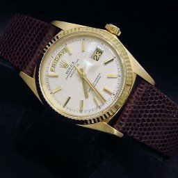 Mens Rolex 18K Gold Day-Date President White  1803