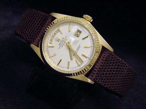 Rolex 18K Yellow Gold Day-Date President 1803 White -7