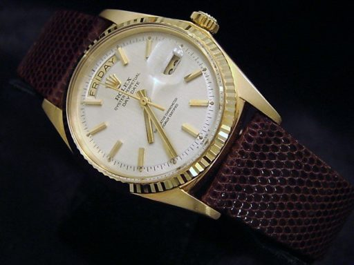 Rolex 18K Yellow Gold Day-Date President 1803 White -6