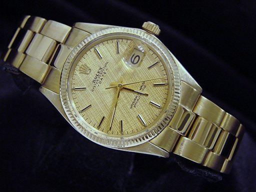 Rolex 14K Yellow Gold Date 1503 Gold -4
