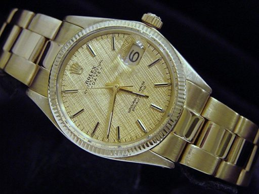 Rolex 14K Yellow Gold Date 1503 Gold -3