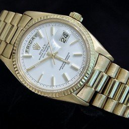 Mens Rolex 18K Gold Day-Date President White  1803 (SKU 1770178MT)