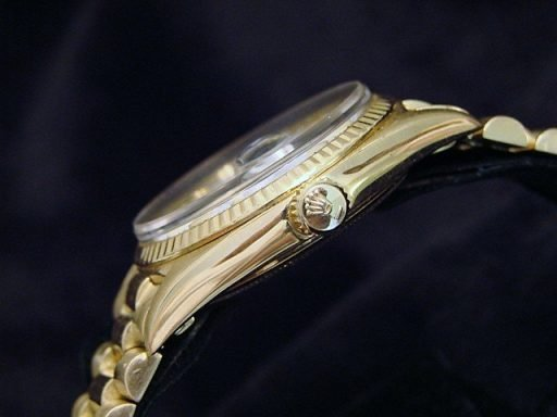 Rolex 18K Yellow Gold Day-Date President 1803 White -2