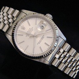 Mens Rolex Stainless Steel Datejust Silver  16234 (SKU S318855MT)
