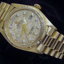 Mens Rolex 18K Gold Day-Date President Champagne Diamond 1803 (SKU 4182083MT)