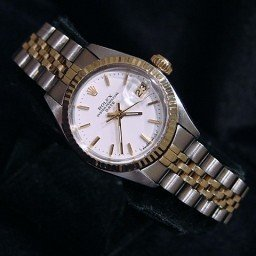 Ladies Rolex Two-Tone 14K/SS Date White  6917 (SKU 4021877AMT)