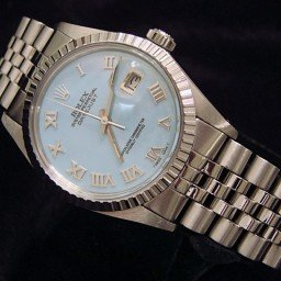 Mens Rolex Stainless Steel Datejust Blue MOP Roman 16030 (SKU 9080212MT)