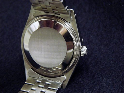 Rolex Stainless Steel Date 15000 White Roman-1