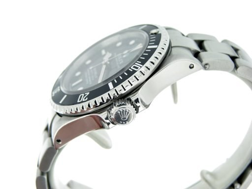 Rolex Stainless Steel Sea-Dweller 16600 Black -6