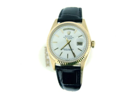 Rolex 18K Yellow Gold Day-Date President 1803 Champagne -8