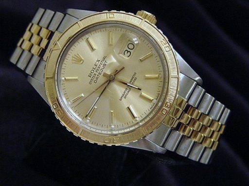 Rolex Two-Tone Datejust Turn-O-Graph 16253-3