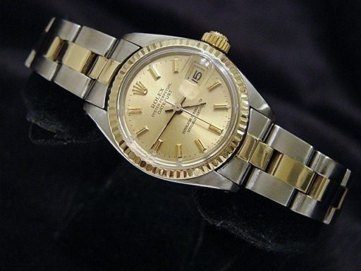 Rolex Two-Tone Datejust 6917 Champagne -4