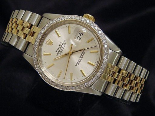 Rolex Two-Tone Datejust 16013 Diamond-4