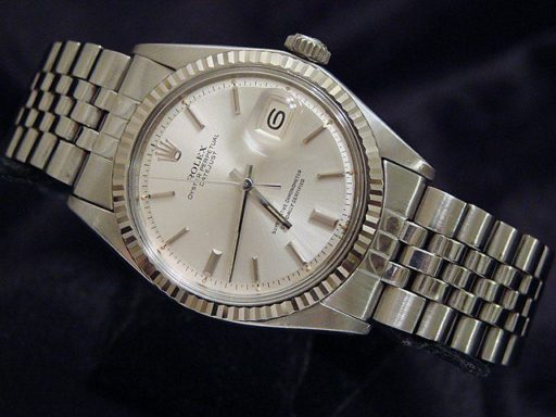 Rolex Stainless Steel Datejust 1601 Silver -4