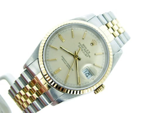 Rolex Two-Tone Datejust 16233 Silver -6