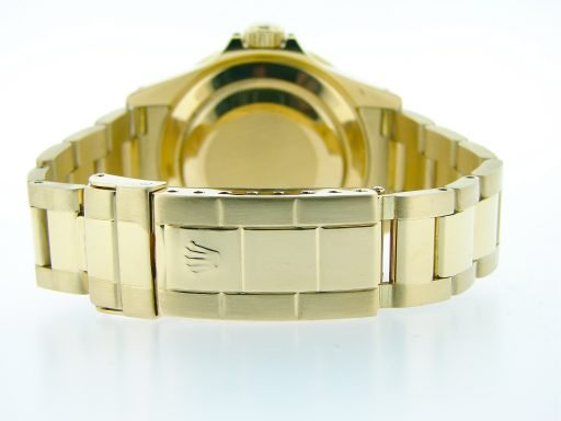 Rolex 18K Yellow Gold Submariner 16618 Blue -1
