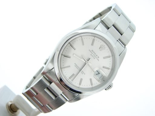 Rolex Stainless Steel Date 15200 Silver -6