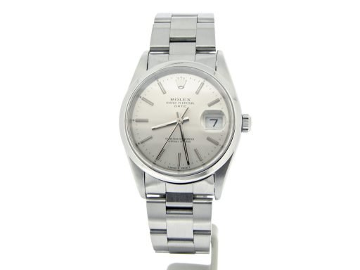 Rolex Stainless Steel Date 15200 Silver -7