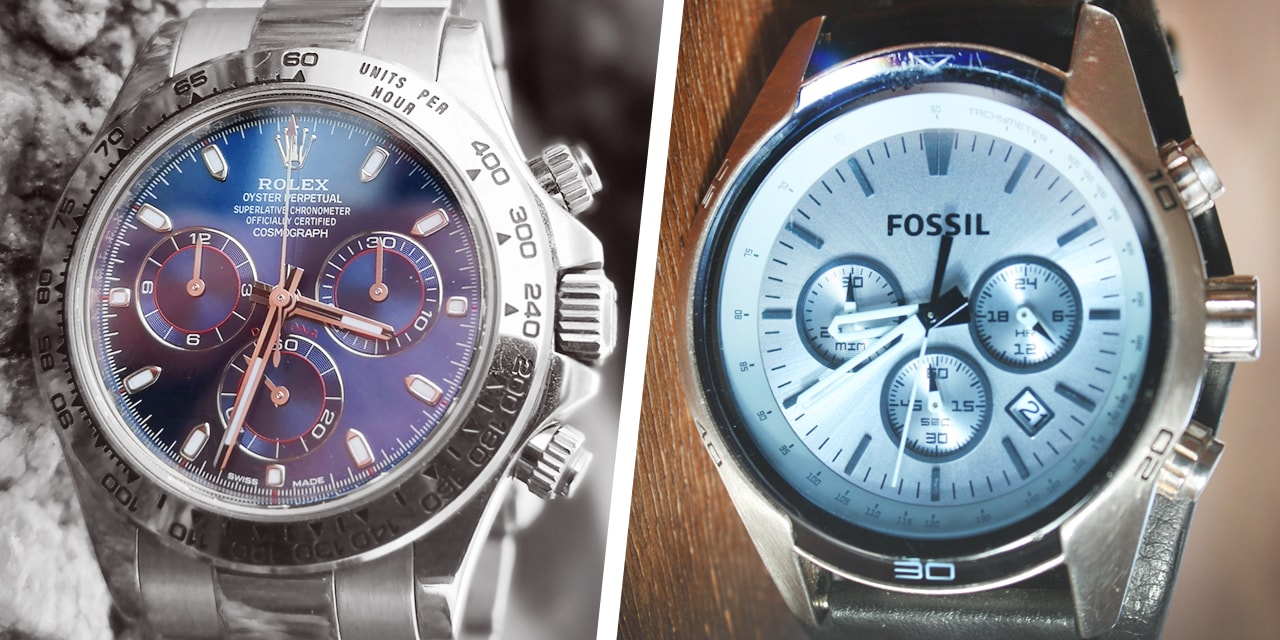 Post image for Is an expensive Rolex better than something cheap?