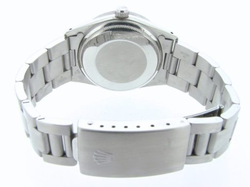 Rolex Stainless Steel Date 15010 White Roman-2