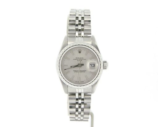 Rolex Stainless Steel Date 79240 Silver -4