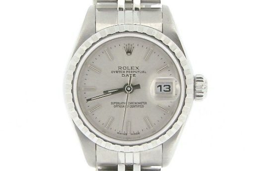Rolex Stainless Steel Date 79240 Silver -1