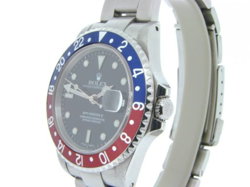 Rolex Stainless Steel GMT Master II 16710 Blue & Red Pepsi -5