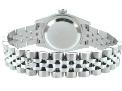 Rolex Stainless Steel Datejust 179160 White Roman-3
