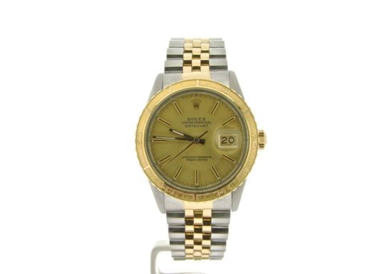 Rolex Two-Tone Datejust Turn-O-Graph 16253-4