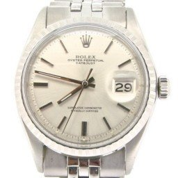 Mens Rolex Stainless Steel Datejust Silver  1603 (SKU 3206316NMT)