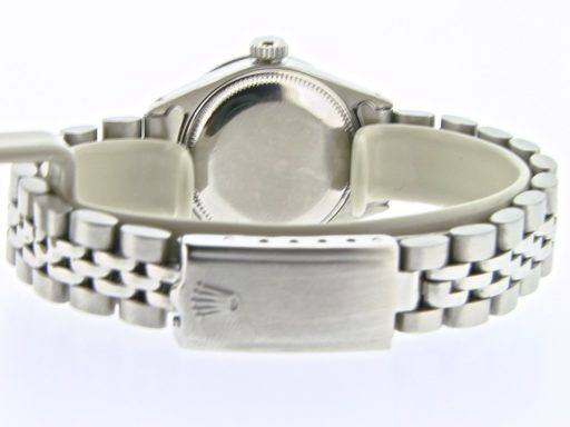 Rolex Stainless Steel Datejust 6917 Silver Diamond-2