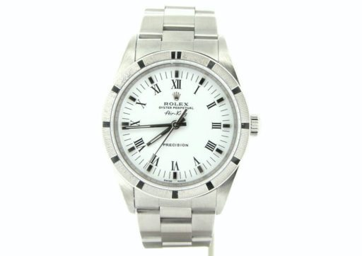 Rolex Stainless Steel Air-King 14010 White-6
