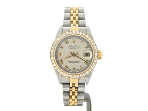 Rolex Two-Tone Datejust 79173 Diamond Ivory-7