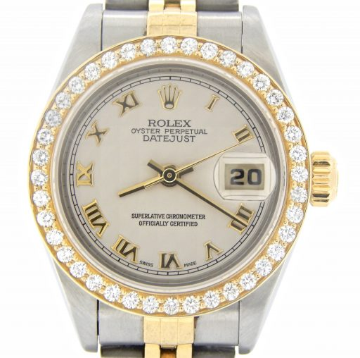 Rolex Two-Tone Datejust 79173 Diamond Ivory-1