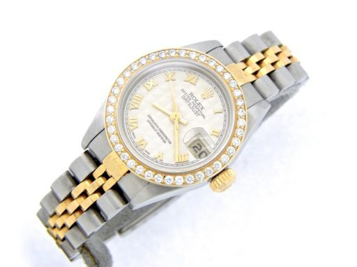 Rolex Two-Tone Datejust 79173 Diamond Ivory-6