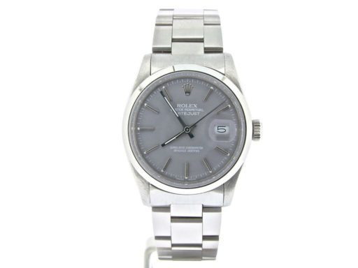 Rolex Stainless Steel Datejust 16030 Gray -6