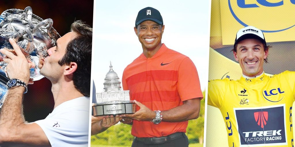 Top pro athletes wear Rolex