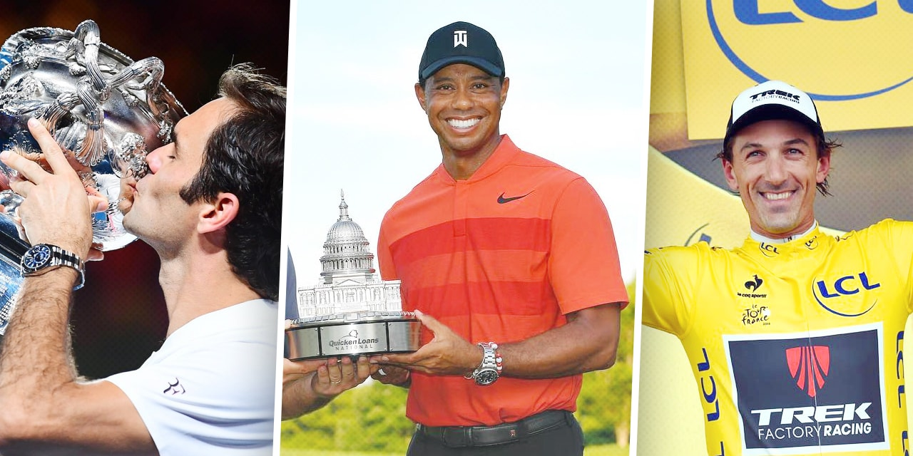 Post image for Top pro athletes wear Rolex