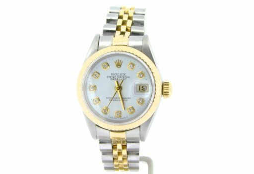 Rolex Two-Tone Datejust 69173 White Diamond-5