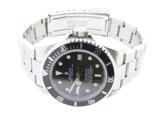 Rolex Stainless Steel Sea-Dweller 16600 Black -5