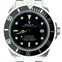 Mens Rolex Stainless Steel Sea-Dweller Black  16600 (SKU F659588NBC)