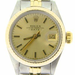 Ladies Rolex Two-Tone 14K/SS Date Champagne  6917 (SKU 6221959NMT)