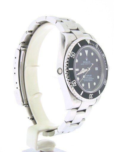 Rolex Stainless Steel Sea-Dweller 16600 Black -3