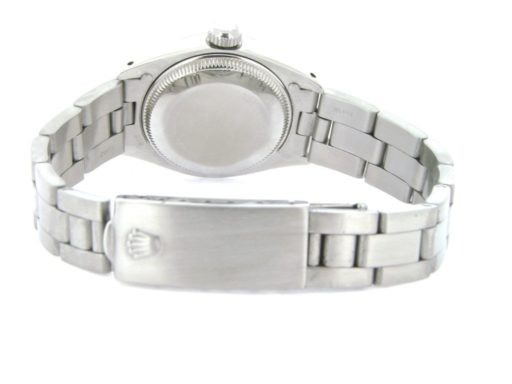Rolex Stainless Steel Datejust 6916 White Diamond-2