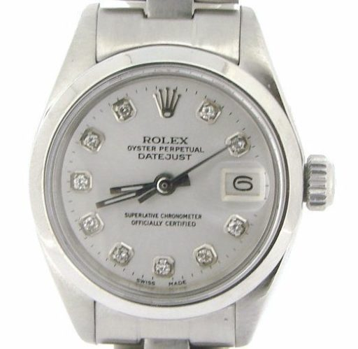 Rolex Stainless Steel Datejust 6916 White Diamond-1