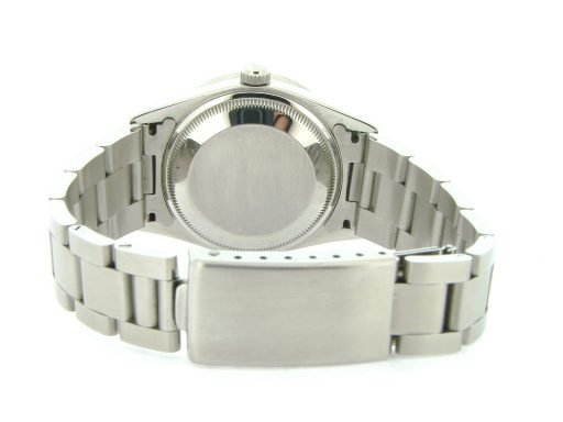 Rolex Stainless Steel Date 15210 White Roman-2
