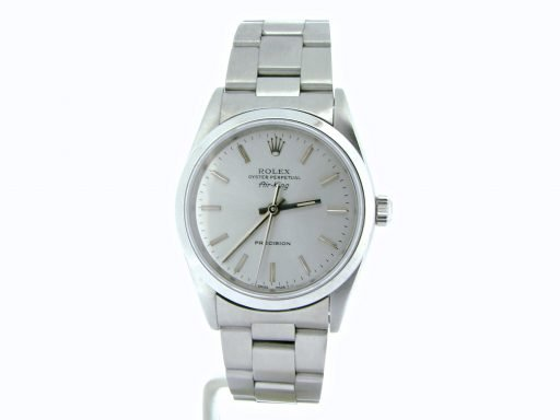 Rolex Stainless Steel Air-King 14000 Silver-7